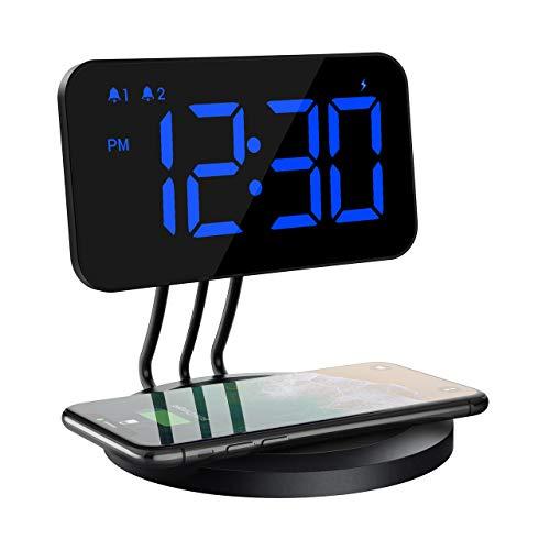 Reloj digital y cargador inalámbrico Mpow