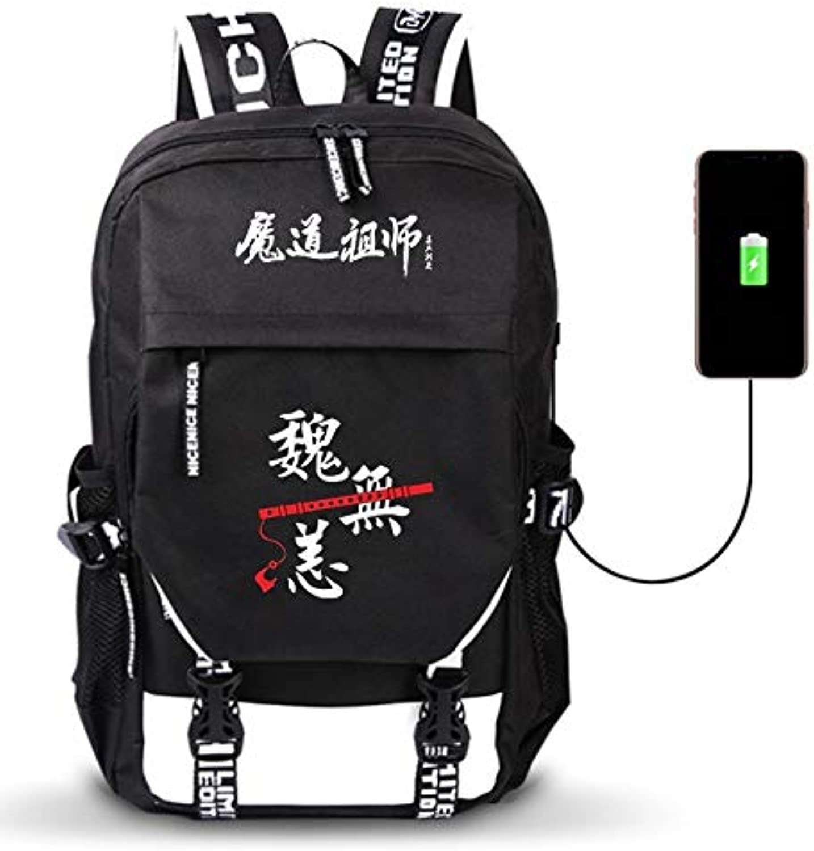 Unisex Outdoor Reiserucksack Anime Anime Anime Daypack Schulter Schultasche Laptop Rucksack mit USB-Ladeanschluss B07NTV451F  Sonderkauf 24e37a