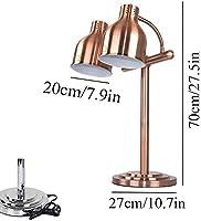 駅ランプ表示暖房保全ライト、ポータブル250ワットヒートランプカービングケータリングヒートランプ厨房ヒートランプ食品温暖化ランプシングル/ダブル球根ビュッフェ