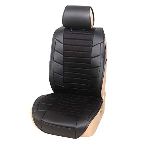 Upgrade4cars Autositzschoner & Rücksitz Organizer | Auto Sitzbezug für Vordersitze mit Trittschutz für die Rückenlehne | Auto Zubehör Innenraum