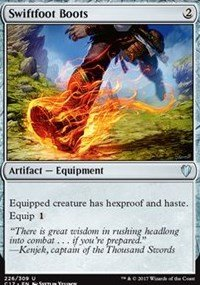 Magic the Gathering - Swiftfoot Boots - Stivali Piedelesto - Commander 2017