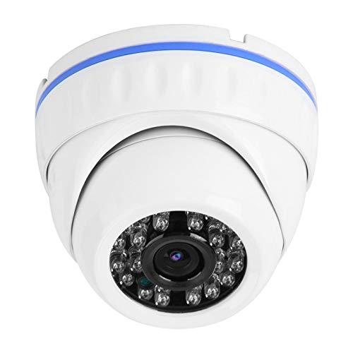 Wosune Cámara Resistente al Agua, cámara CCTV TVI HD CVI, Sistema de Seguridad para el hogar para entradas Familiares en Interiores y Exteriores(4MP)