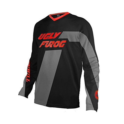 Uglyfrog Designs Bike Wear Mens Downhill Motocross Jersey Rage MTB Cycling Top Cycle Long Sleeve Spring Mountain Bike Shirt FS10