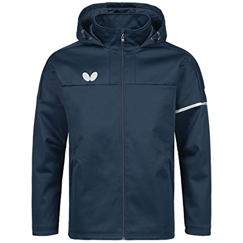 Save %25 Now! Butterfly Otaru Jackets – Casual Cut, Lined Men or Women's Navy Sports, Table Tenn...