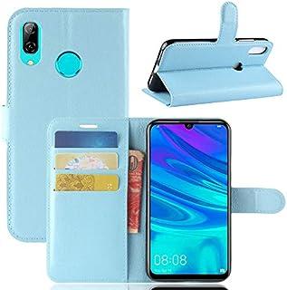 MeetJP, Huawei P30 Lite シェル 財布 レザー, Huawei P30 Lite シェル ?と カード ホルダー 且つ キックスタンド, Huawei P30 Lite 財布 シェル ?と 耐久性, 耐久性 シェル カバー の Huawei P30 Lite Blue
