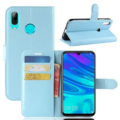 Aidinar Funda para Xiaomi Redmi Go, Flip/con Ranuras para Tarjetas de Crédito/Cubierta Magnética, para Xiaomi Redmi Go Funda(Azul)