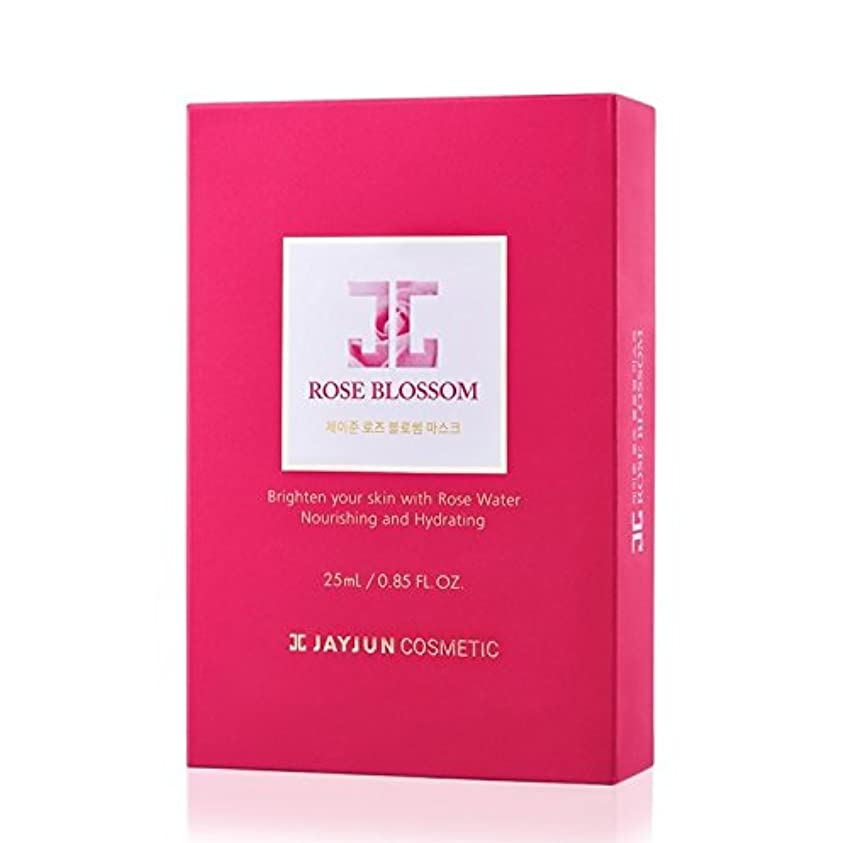 電気技師社会ダウンタウンジェイジュン ローズ ブロッサム マスク 25ml×10枚 / JAYJUN Rose Blossom Mask 25ml×10ea [海外直送品] [並行輸入品]