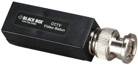 Cheap Max 89% OFF mail order specialty store Black Box CCTV Balun Video