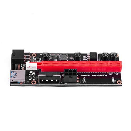 YOUYO La Extracción de GPU Usb Vertical Usb 3 0 PCI-E Riser... PCI-E Riser Exprés Cable Ver 009S Express 1X 4X 8X 16X Extensor Riser Accionadas Adaptador de Tarjeta de Adaptador Sata