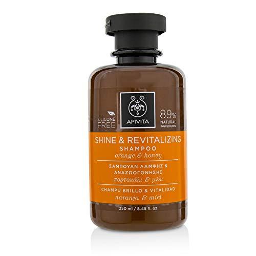 Apivita Shine & Revitalizing Shampoo with Honey & Orange 250ml