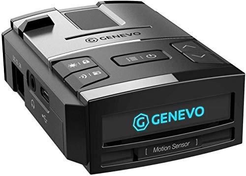 GENEVO™ MAX Radarwarner / Blitzwarner – Warnt vor Blitzern im Straßenverkehr in Echzeit – GPS Gefahren