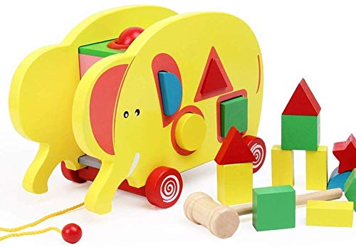 Find Discount Ladan Pull Line Fun Walker Car, Children's Educational Enlightenment Early Childhood E...