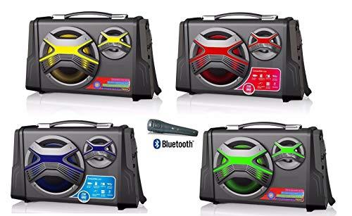Altavoz Karaoke PORTATIL Bluetooth 25 W │ FUJICELL