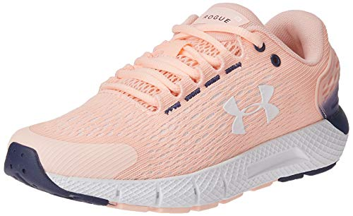Under Armour Charged Rogue 2, Zapatillas para Correr para Mujer, Peach Frost 600 Color Blanco, 38 EU
