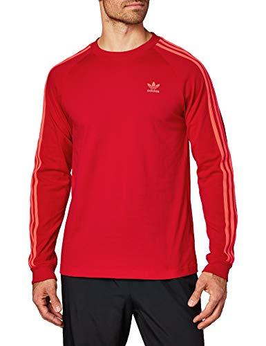 adidas Originals Longsleeve Herren BLC 3-S LS T EJ9688 Rot, Größe:M