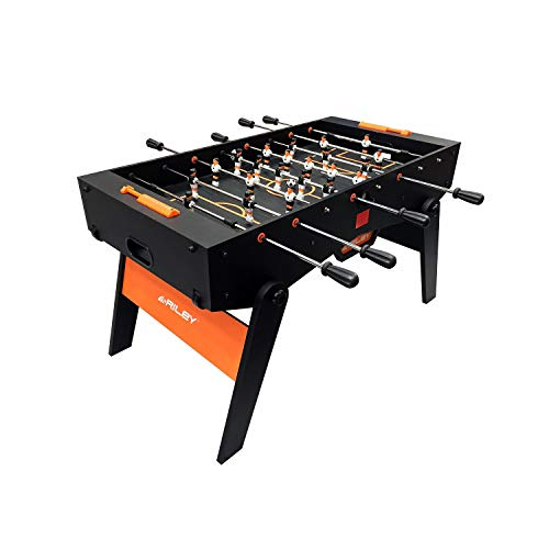 Riley RFFT-46 - Kickertisch Tischkicker Spieltisch, 4'6