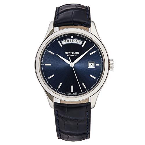 Montblanc Heritage Automatic Chronometrie/Quadrante blu/Diametro: 38mm/...