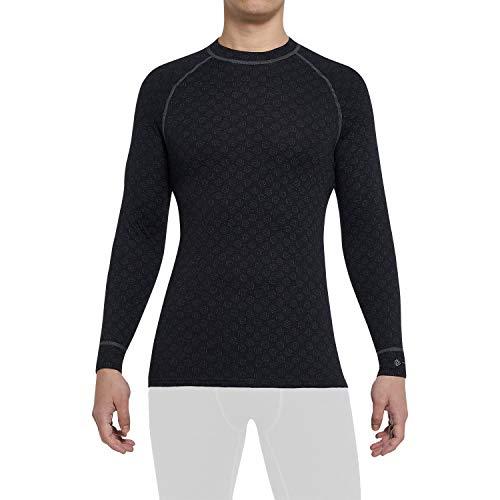 Thermowave Xtreme Merino - Ropa interior térmica para hombre - Camiseta de merino para hombre - Regulación óptima de la humedad 220 g/m² Super suave secado rápido