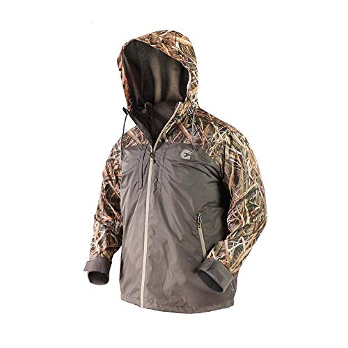 Best Prices! Gator Waders Mens Shield Series 3-in-1 Waterproof Hunting Jacket, Mossyoak Shadow Grass...