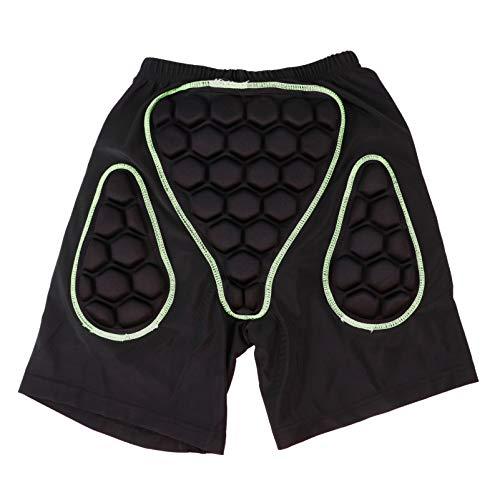 BESPORTBLE Pantalones Cortos de Ciclismo para Hombre Pantalones Cortos para Montar en Bicicleta Pantalones Cortos Acolchados en 3D Pantalones Cortos de Bicicleta Ajustados para Deportes MTB
