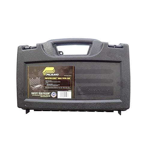 Plano 140300 Protector Single Pistol Case , Black, Small