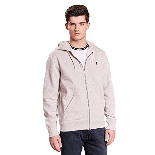 Ralph Lauren Hoodie mit Reißverschluss Double Tech Hood (S, Heather)