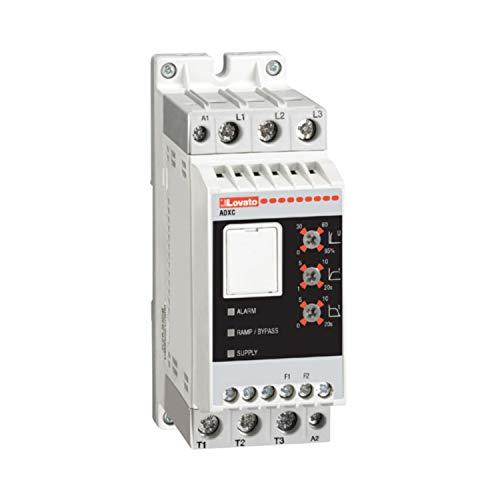 Arrancador estático ADXC 230 400V AC, alimentado de 24V AC/DC 32A, 10,9 x 4,5 x 17,5 centímetros, color blanco (Referencia: ADXC03240024)