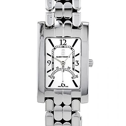 ハリー・ウィンストン HARRY WINSTON アヴェニュー 310UQSRW ホワイト文字盤 中古 腕時計 レディース (W160272) [並行輸入品]