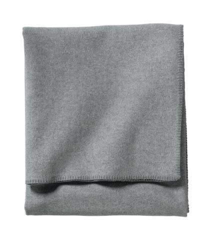 Pendleton, Eco-Wise Washable Wool Blanket, Grey Heather, King