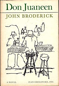 Hardcover John Broderick / Don Juaneen First Edition 1965 Book