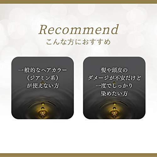 シエロオイルインヘアマニキュアダークブラウン100g+3g+10g