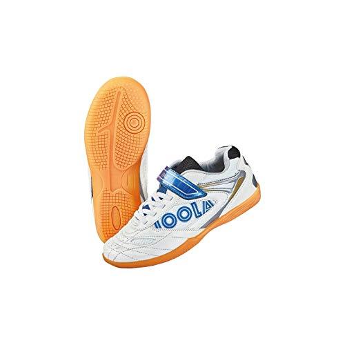 JOOLA Schuh Pro Junior 17 +1 Paar Socken gratis Optionen 33, weiß/blau
