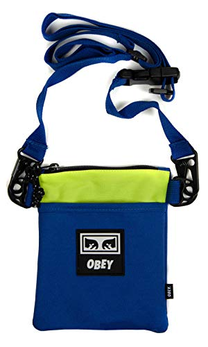 Conditions Side Pouch III in Blue Multi