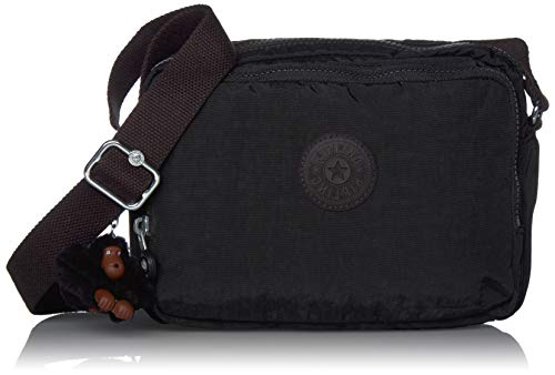 Kipling Women's Silen Crossbody Bag, True Black, One Size