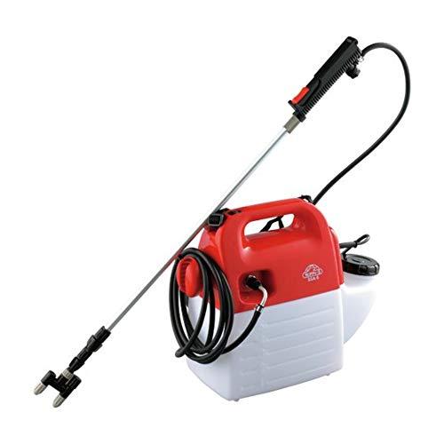 セフティー3 電気式噴霧器 5L 100Vコード ホース10m ノズル70~160cm 1頭2頭切替 SSA-5