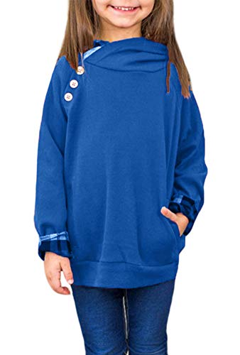 storeofbaby Girls Long Sleeve Hoodies Winter Casual Fashion Cool Sweatshirt Green