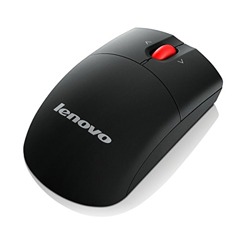 Lenovo 0A36188 Mouse Laser Wireless - Radio Frequency - USB - 1600 dpi - Tilt Wheel - Symmetrical