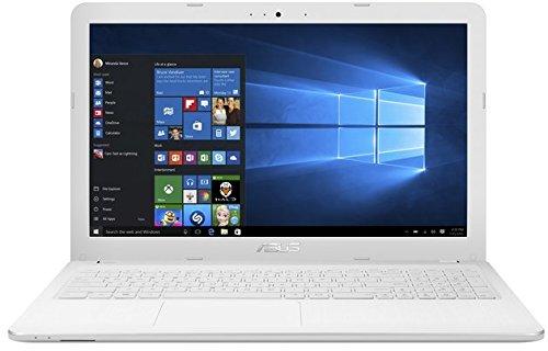ASUS (15,6 Zoll) Notebook (Intel N3050 Dual Core 2x2.16 GHz, 4GB RAM, 750GB S-ATA HDD, Intel HD Graphic, HDMI, VGA, Webcam, USB 3.0, USB Type-C, WLAN, DVD-Brenner, Windows 10 Professional 64-Bit #5095