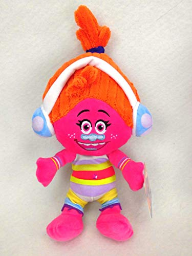 Marabella Trolls DJ Suki Kuscheltier Stofftier Teddy Plüschfigur Plüsch 32 40 oder XL 68cm, Größe der Plüschfigur:ca. 32cm
