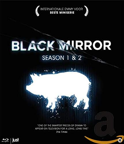 Black Mirror - Series 1 & 2 ( Black Mirror - Series One and Two ) [ Blu-Ray, Reg.A/B/C Import - Netherlands ]