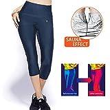 MATEHOM Gewichtsverlust Hosen Sauna Hosen, Womens abnehmen Hosen Hot Thermo Neopren Sweat Sauna...