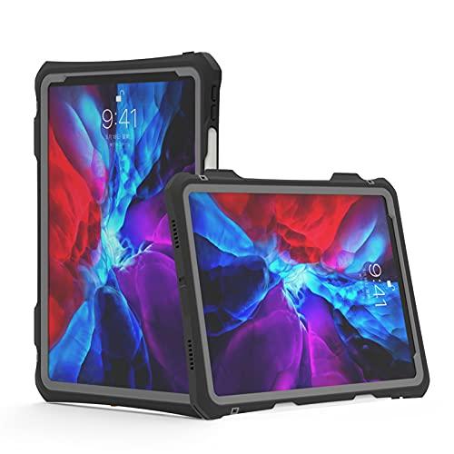 Funda para iPad Pro 11' (Modelo: 2021/2020, 3ª / 2ª Generación), IP68 Impermeable Carcasa, Totalmente sellada bajo el Agua [Antichoque] [Built-in Screen Protector] 360 Grados Protección,