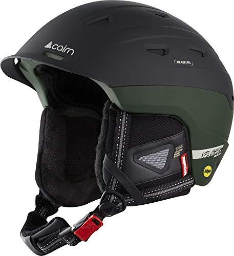 Cairn - Erwachsene Freeski Skihelm Xplorer Rescue MIPS®, Snowboardhelm, In die Schale integrierte Recco chip, OSS Ohrstöpsel