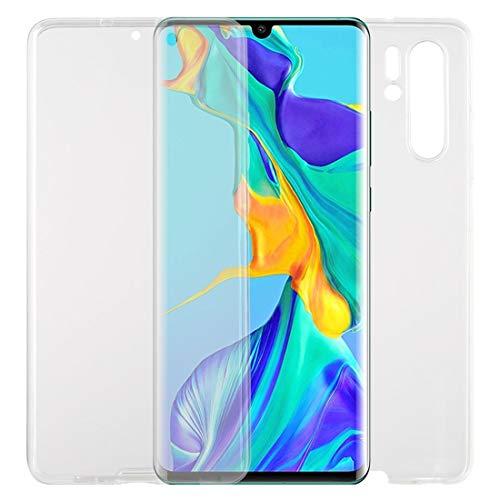 LM para para Huawei P30 Pro TPU + Acrílico Funda de teléfono móvil Transparente de Doble Cara ultral Delgado 2021 Nuevo uno