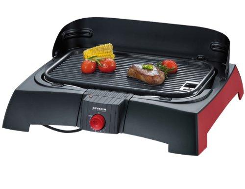 Severin - 2786 - Barbecue de table - 1600 W - plaque...