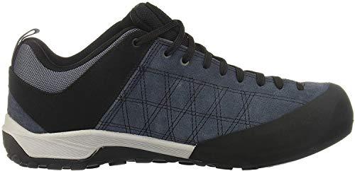 Adidas Guide Tennie, Chaussure de Piste d'athlétisme Homme, AZUUTI/NEGBÁS/Red, 42 2/3 EU