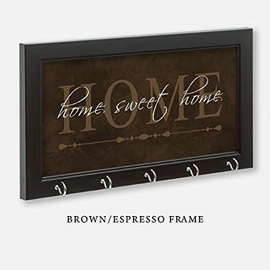 Home Sweet Home Key Holder, Brown Color