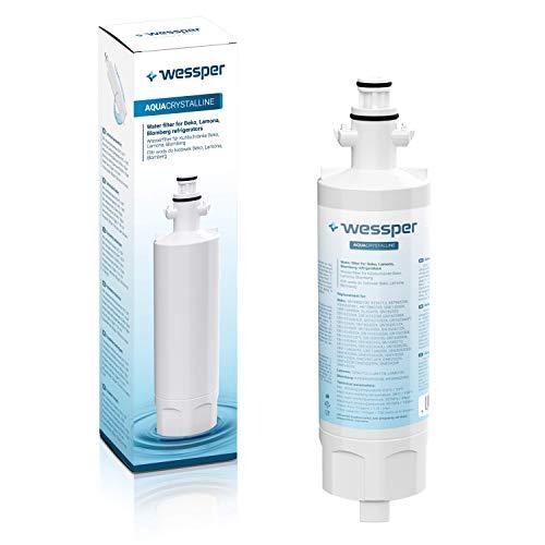 Wessper 4874960100 Cartucho de Filtro de Agua para Nevera/frigorífico - Beko 4874960100,...