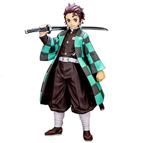 Anime Figura de acción muñeco Demonio Slayer Kimetsu No Yaiba Anime Figura de acción Kamado Tanjirou Figuras de PVC de PVC COLECCIÓN MODELO COLECCIÓN Estatua de la estatua Juguetes de escritorio Adorn