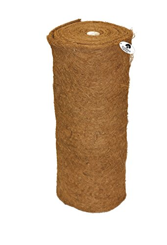 Ruddings Wood 10m Coco Liner Roll for Hanging Baskets & Garden Wall Troughs - Patio Planter inserts Liners - Flower Pot Coconut Mat Fibre